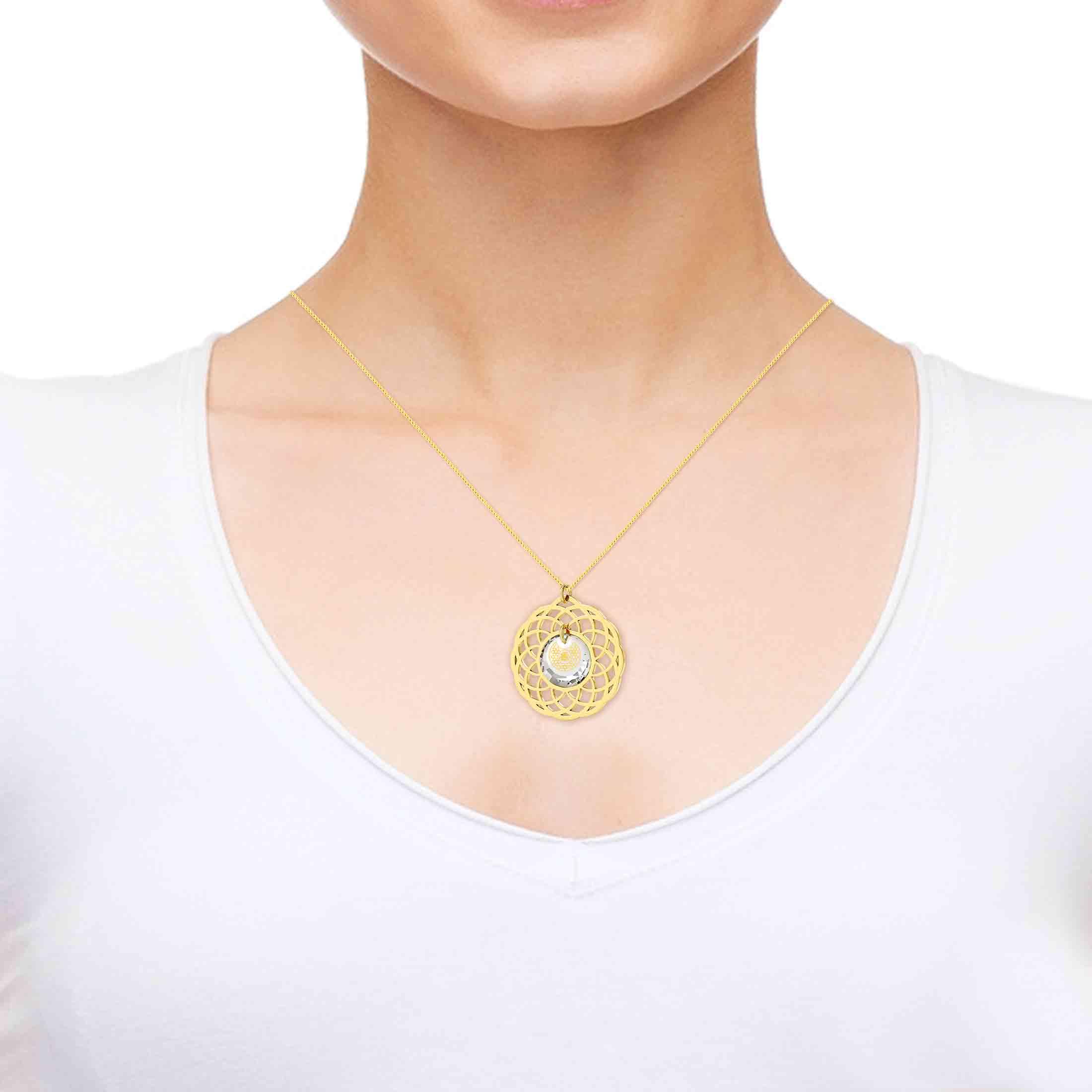 שרשרת שמע ישראל – תליון מיוחד לאישה - תכשיטים עם משמעות – תכשיטי ננו