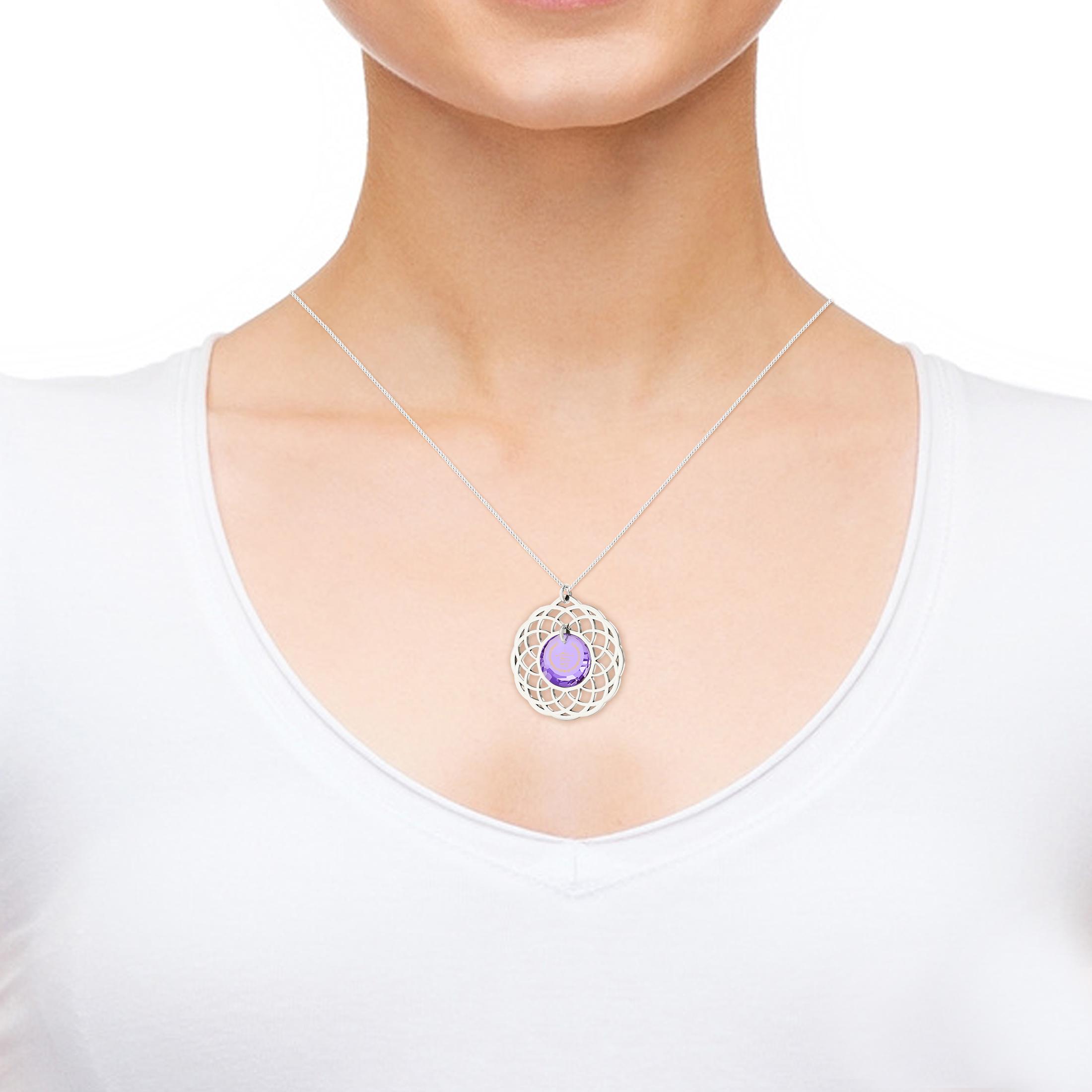 מתנה מקורית - רעיון למתנת יום הולדת - שרשרת לאמא - תליון תפילת השלווה - ננו תכשיטים