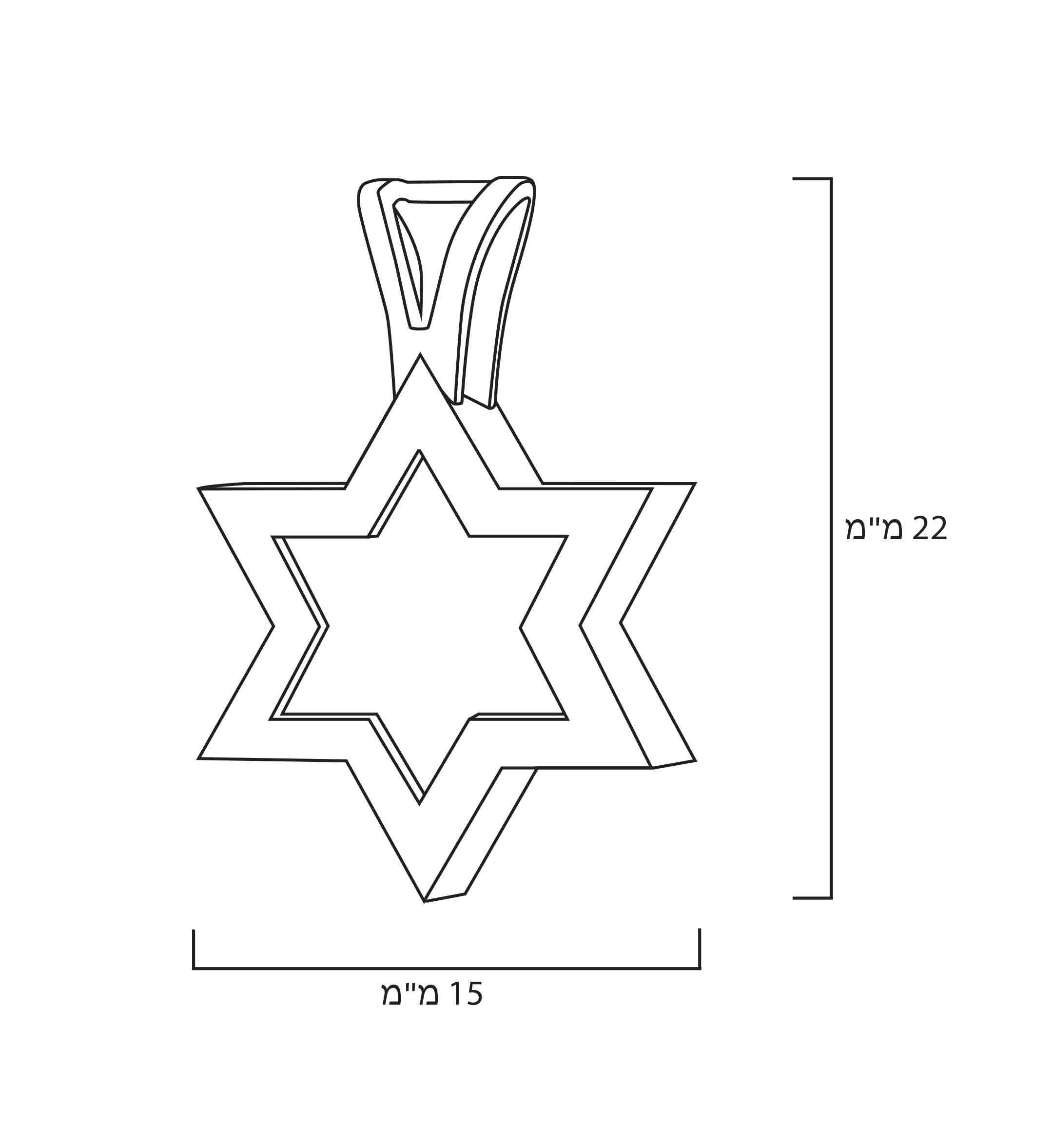 מתנה לבר מצווה לילד דתי - שרשרת מגן דוד שמע ישראל - מתנה מקורית לבר מצווה - תכשיטי ננומתנה לבר מצווה לילד דתי - שרשרת מגן דוד שמע ישראל - מתנה מקורית לבר מצווה - תכשיטי ננו