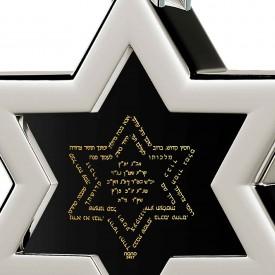 שרשרת קבלה לגבר - תפילת אנא בכח בזהב טהור על אבן שחורה - נאנו תכשיטיםשרשרת קבלה לגבר - תפילת אנא בכח בזהב טהור על אבן שחורה - נאנו תכשיטים