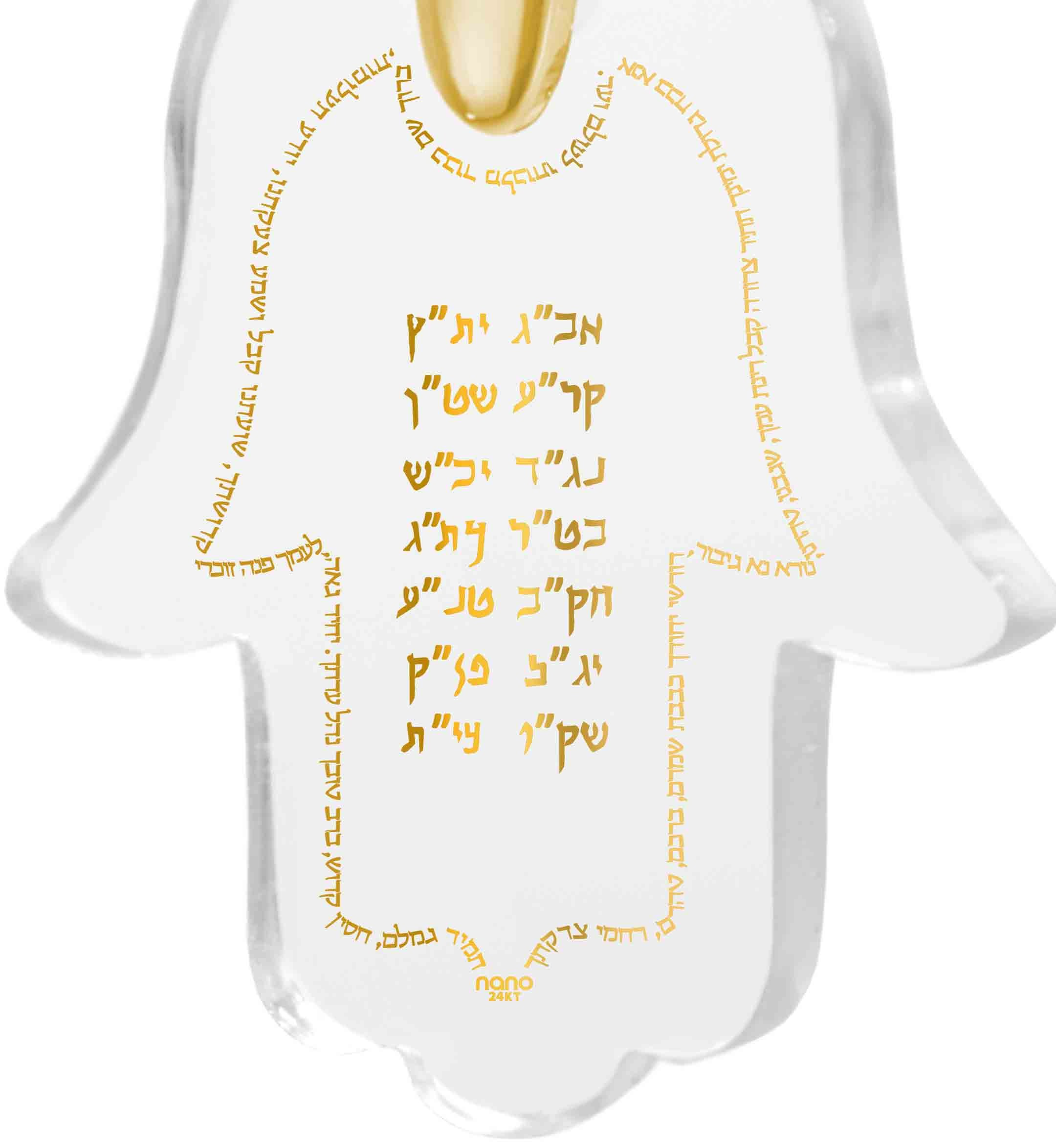 תכשיטי קבלה - תליון חמסה עם תפילת אנא בכח - ננו תכשיטיםתכשיטי קבלה - תליון חמסה עם תפילת אנא בכח - ננו תכשיטים
