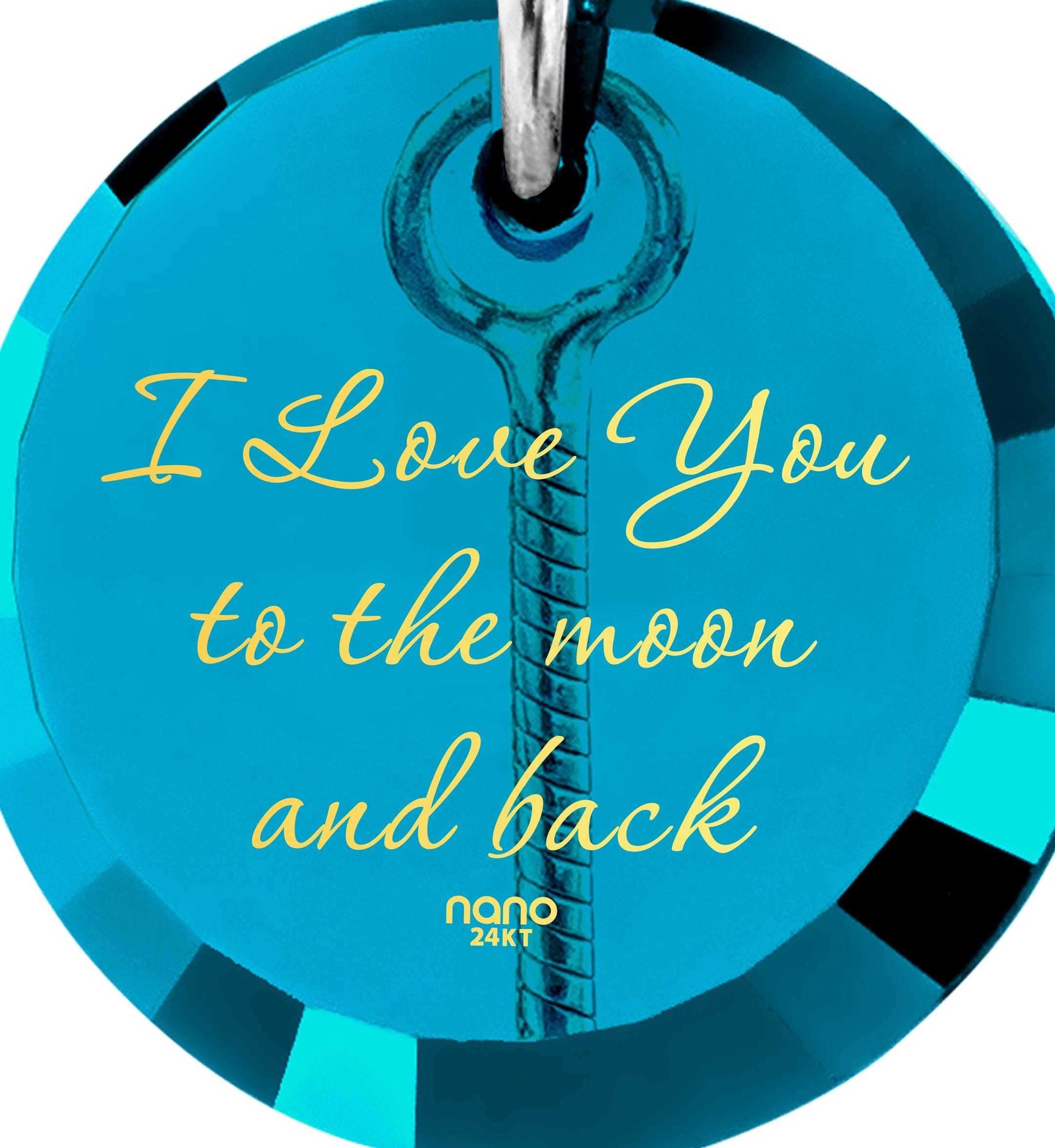 מתנות מיוחדות לאישה: תכשיט מגניב I Love You to the Moon and Back - תכשיטי ננומתנות מיוחדות לאישה: תכשיט מגניב I Love You to the Moon and Back - תכשיטי ננו