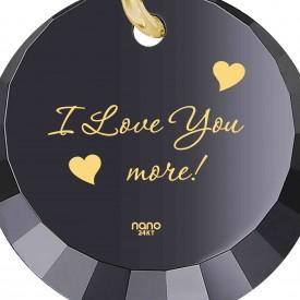 רעיון למתנה לאישה: תכשיט מגניב עם הכיתוב I Love You More – ננו ג'ולרירעיון למתנה לאישה: תכשיט מגניב עם הכיתוב I Love You More – ננו ג'ולרי