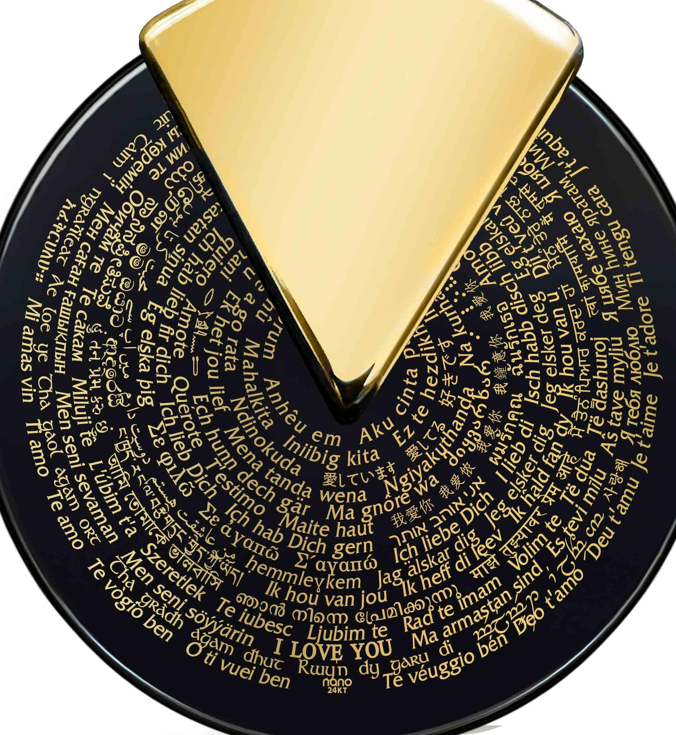 מתנות לוולנטיין - תכשיטים ליום האהבה – תכשיט רומנטי עם מילות אהבה ב-120 שפות– ננו תכשיטיםמתנות לוולנטיין - תכשיטים ליום האהבה – תכשיט רומנטי עם מילות אהבה ב-120 שפות– ננו תכשיטים