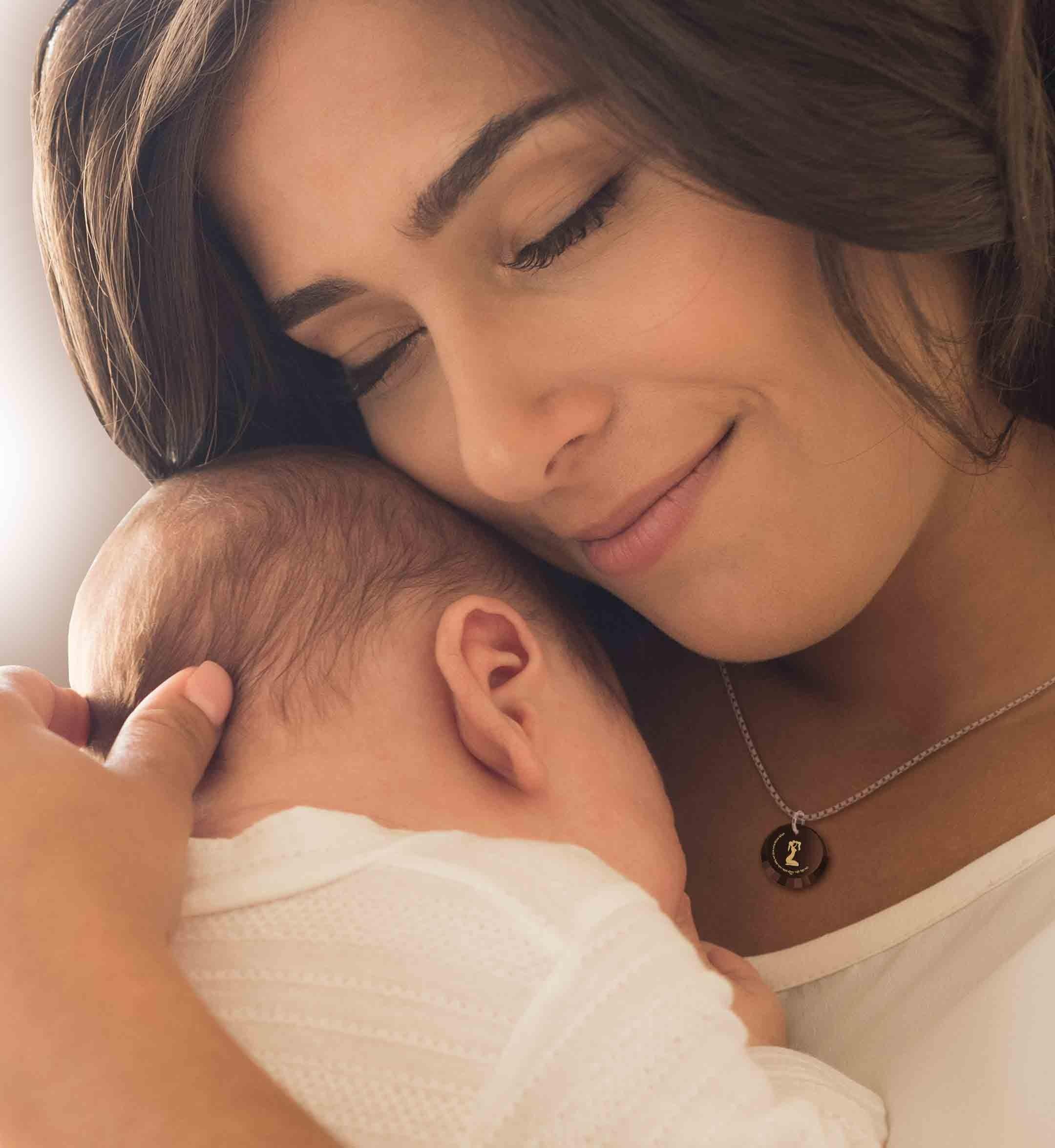 מתנה ליולדת - שרשרת עם ברכה לשלום התינוק - ננו תכשיטיםמתנה ליולדת - שרשרת עם ברכה לשלום התינוק - ננו תכשיטים