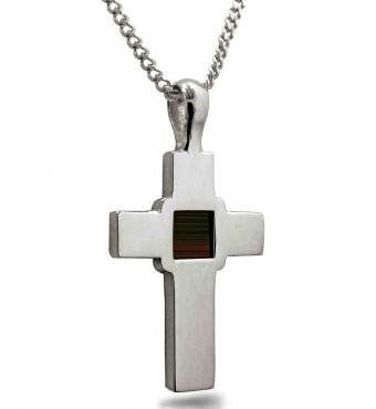 Tiny Bible: Miniature Bible in a Cross Necklace - Nano JewelryTiny Bible: Miniature Bible in a Cross Necklace - Nano Jewelry