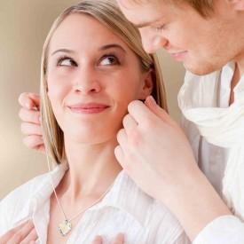 רעיון למתנה ליום האהבה לאישה - תליון לב עם