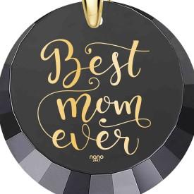 מתנה לאמא ליום הולדת 45 - Best Mom Ever - מוטבע בזהב טהור על האבן - ננו תכשיטיםמתנה לאמא ליום הולדת 45 - Best Mom Ever - מוטבע בזהב טהור על האבן - ננו תכשיטים