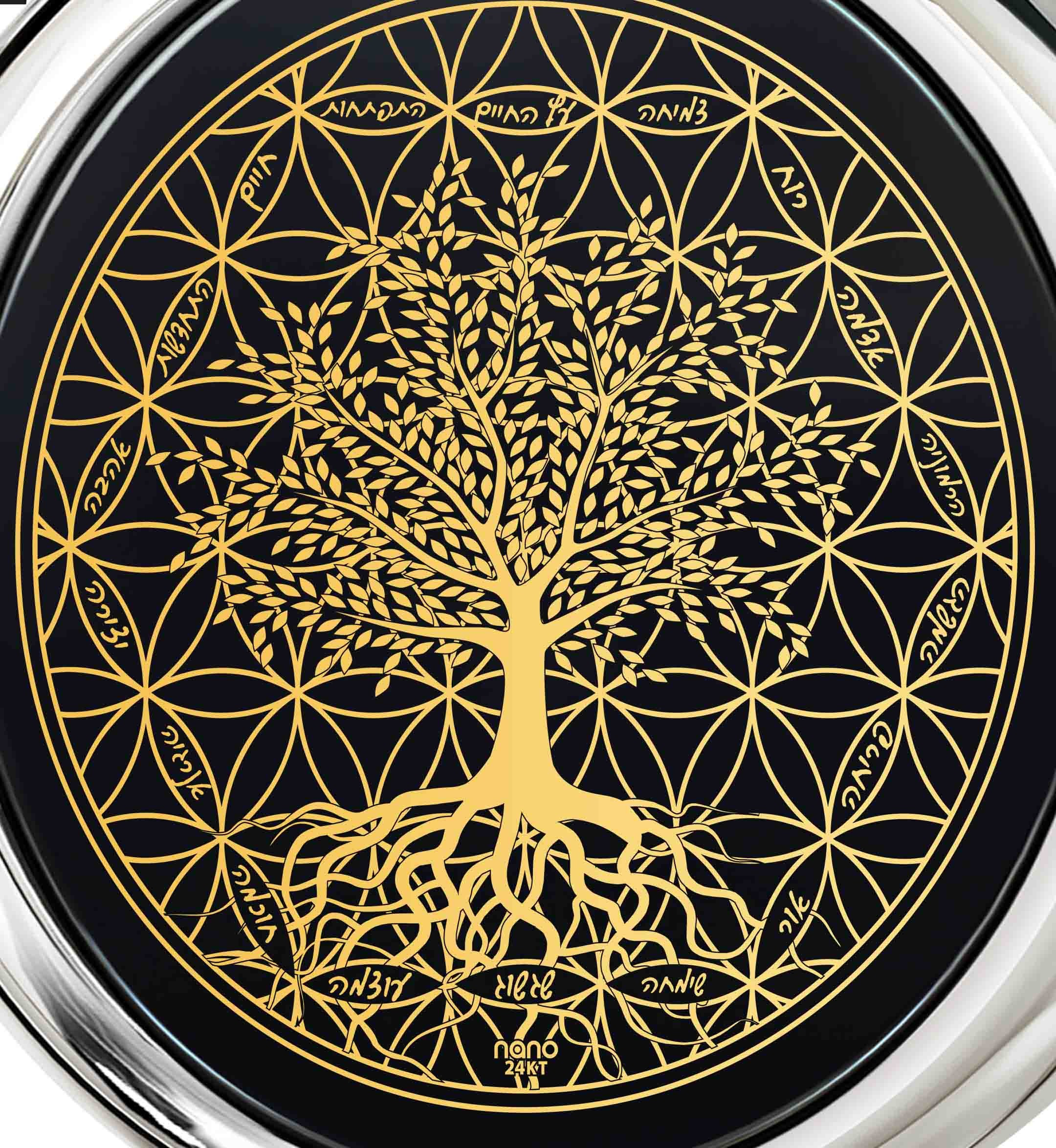 מתנת יום הולדת לאישה - שרשרת עץ החיים עם מילות העצמה - ננו תכשיטיםמתנת יום הולדת לאישה - שרשרת עץ החיים עם מילות העצמה - ננו תכשיטים